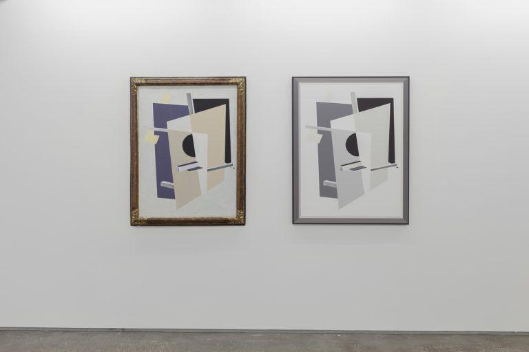 Dag Erik Elgin, Original Grisaille  El Lissitzky's Proun Interpenetrating Planes