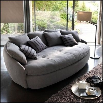 Oval Shaped Sofa Room Furniture Design Trendy Sofas Furniture