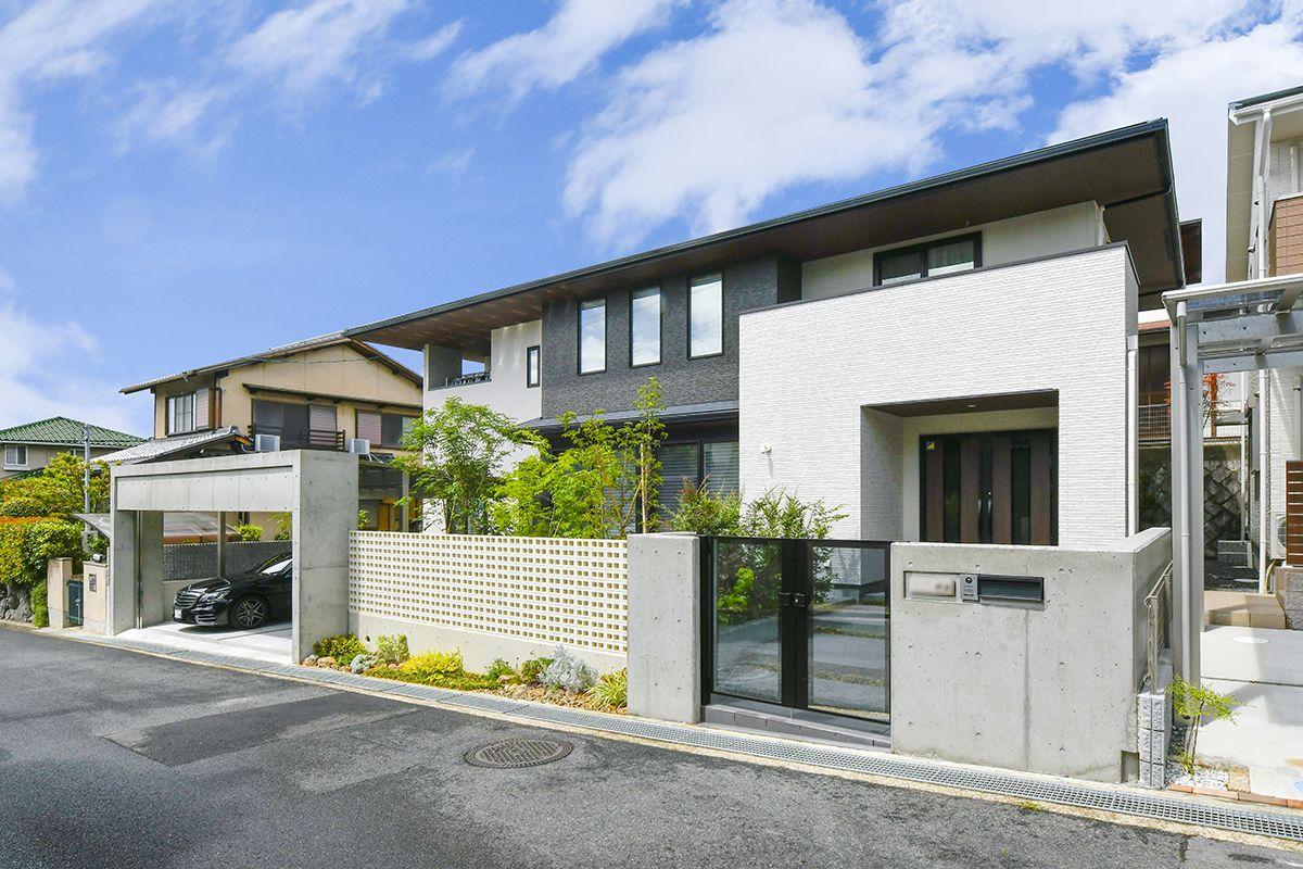 注文住宅 間口の広さ 外観 高級感 注文住宅 住宅 建築士