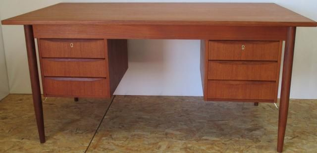 Danish Desk By Gunnar Nielsen Tibergaard 1960s For Sale At Pamono