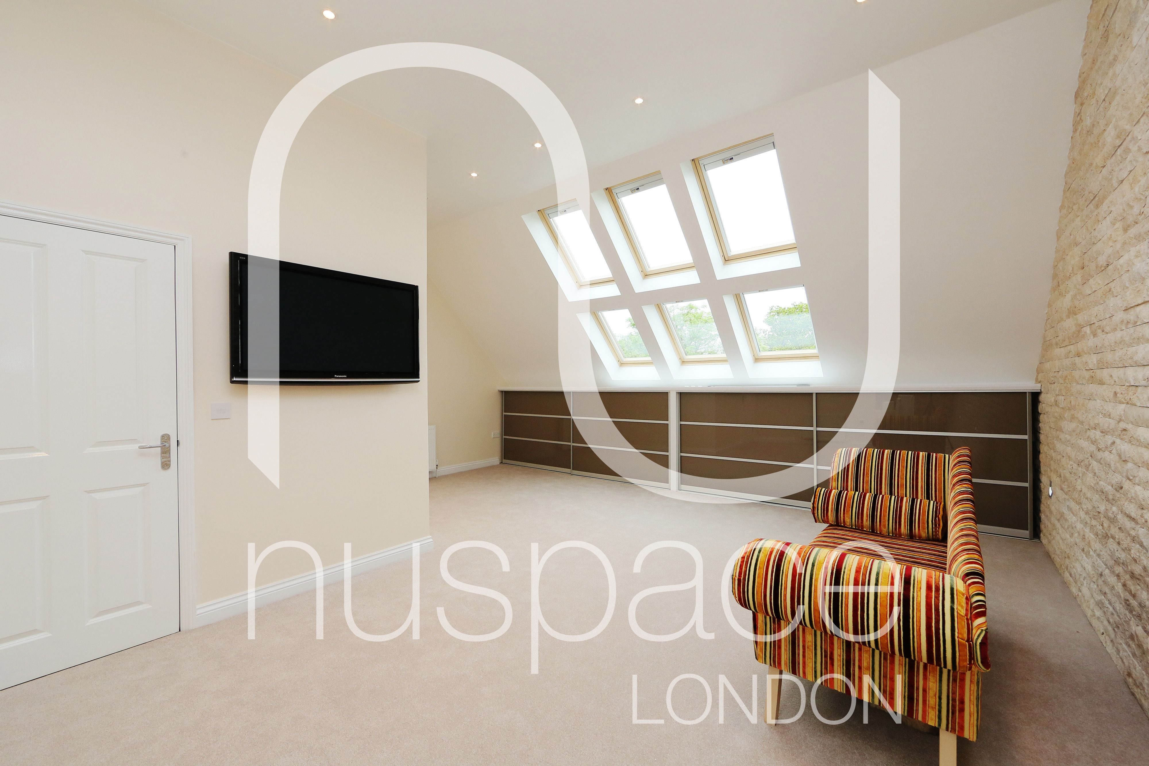 Loft inside bedroom  Have a look from inside of a velum loft conversion nuspacelondon