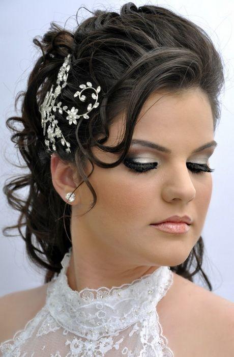 Modelos de penteados para noivas   Penteado noiva ...