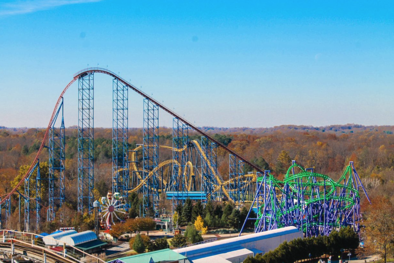 Six Flags America Reopening On Saturday Wtop In 2021 Six Flags America Six Flags America