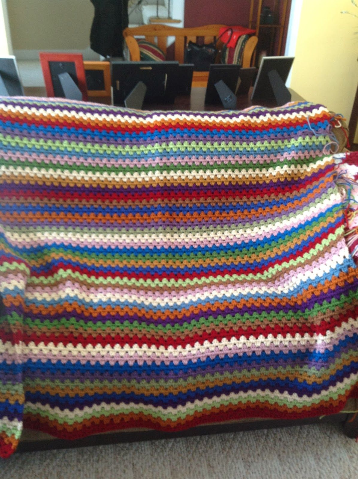 Granny Stripe Blanket Pattern Unique Inspiration Design
