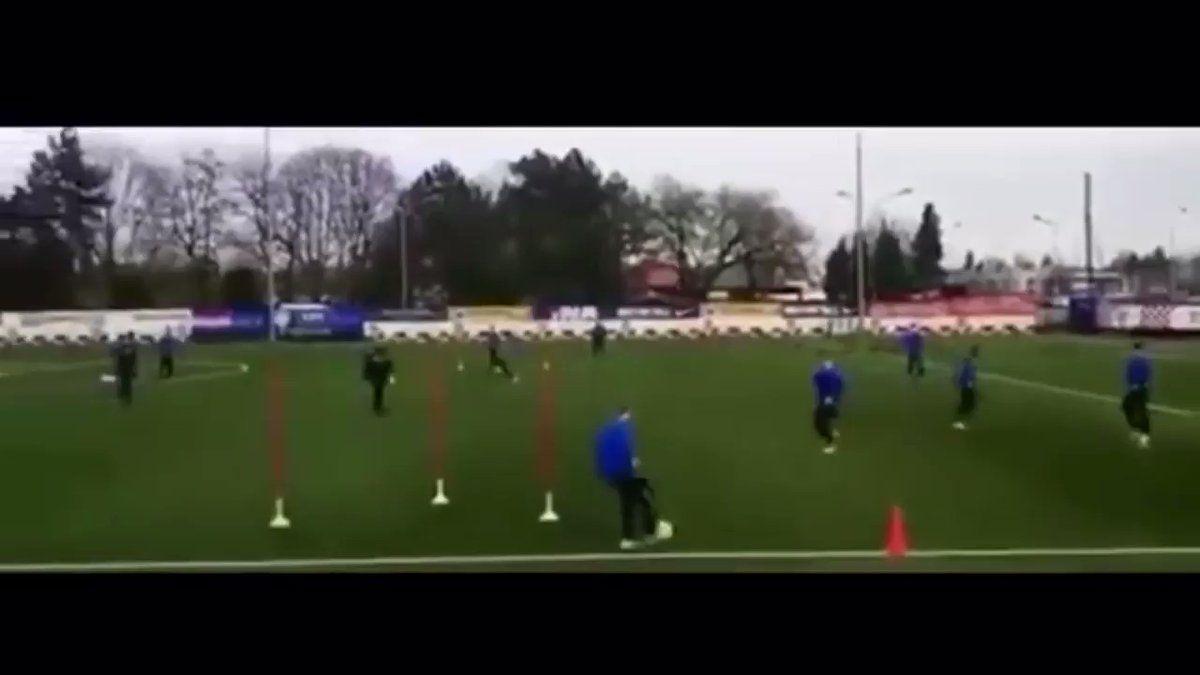World Football Coach On Twitter Gnk Dinamo Zagreb Academy Passing Circuit Dinamozagreb Football S World Football Football Coach Football Passing Drills
