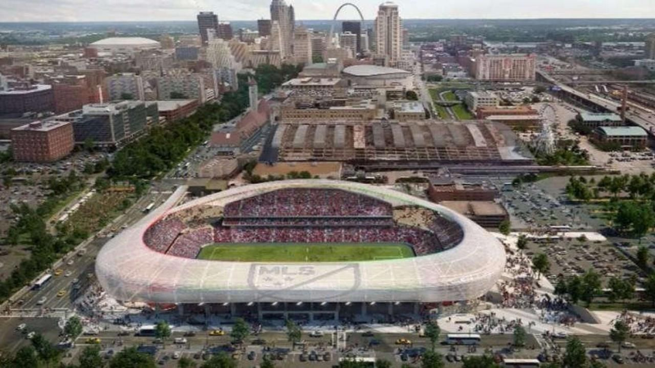 Missouri Governor Elect Says Public Funding For St Louis Mls Stadium Is Welfare For Millionaires Soccer Stadium Mls Teams Stadium