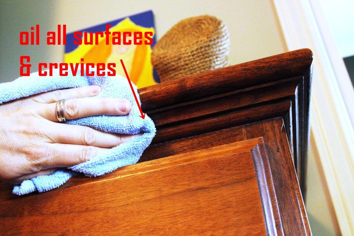 So Reinigen Und Polieren Sie Holzmobel Reinigen