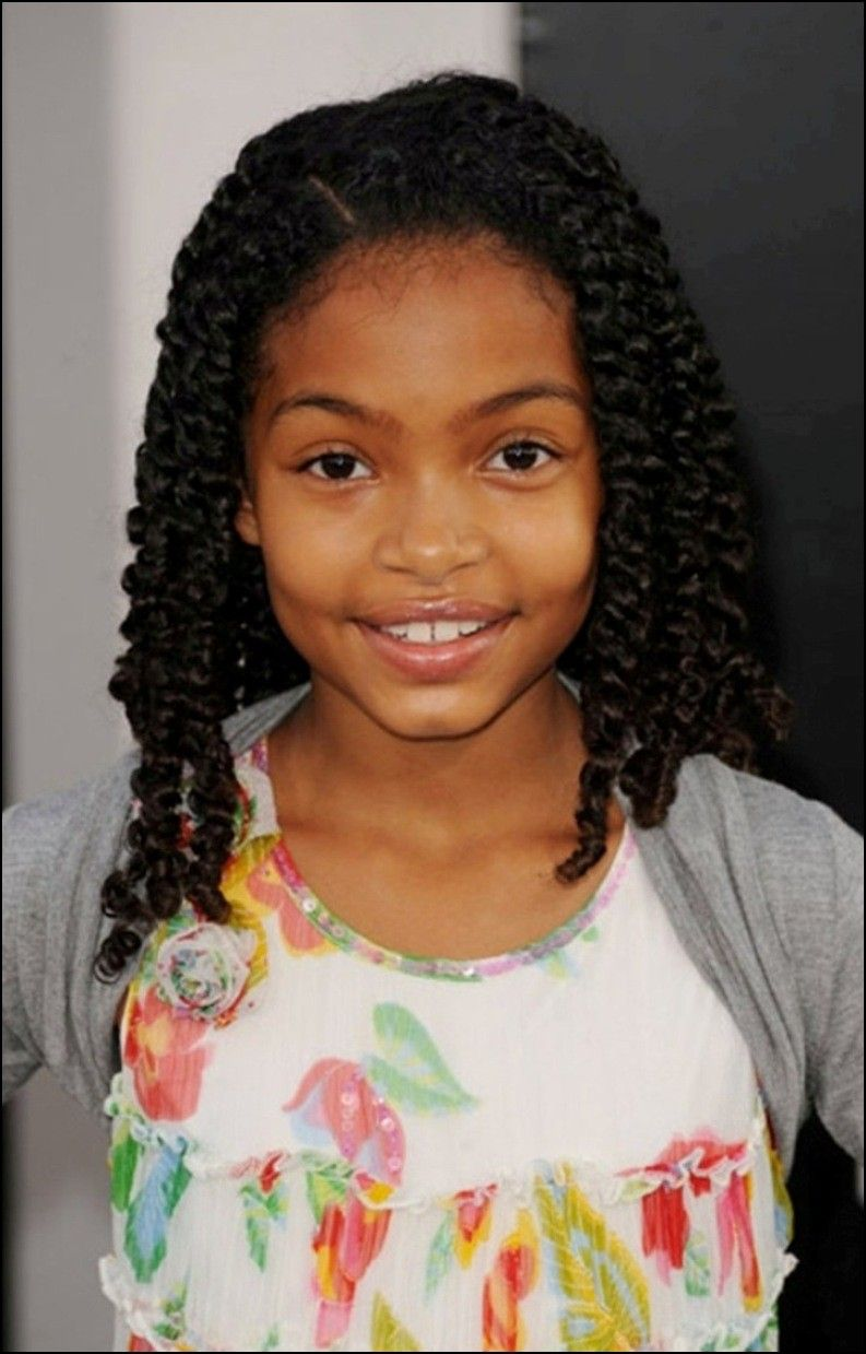 Natural hairstyles for little black girl hairstyles ideas