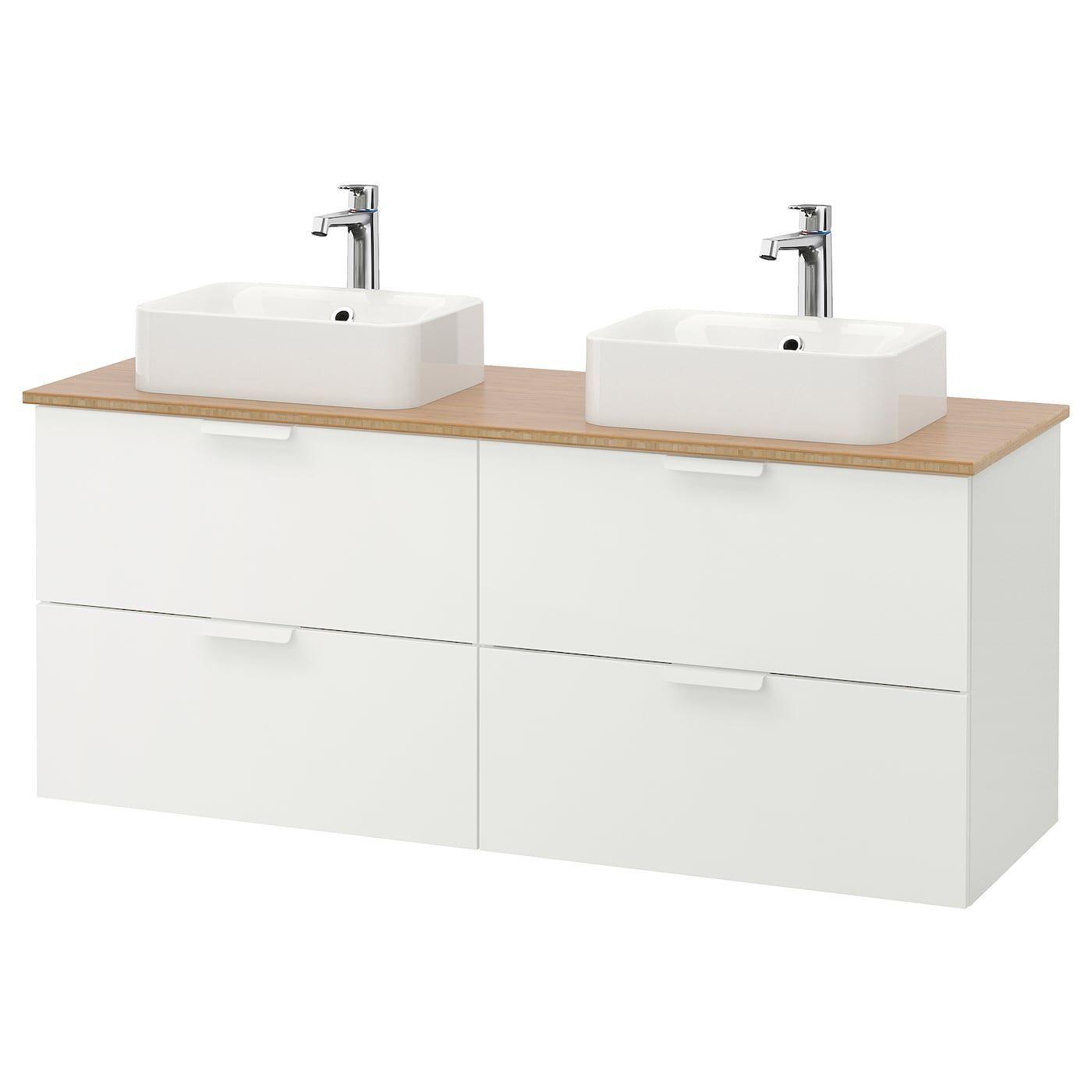 Bamboo Bathroom Brogrund Faucet Godmorgontolken Horvik Ikea