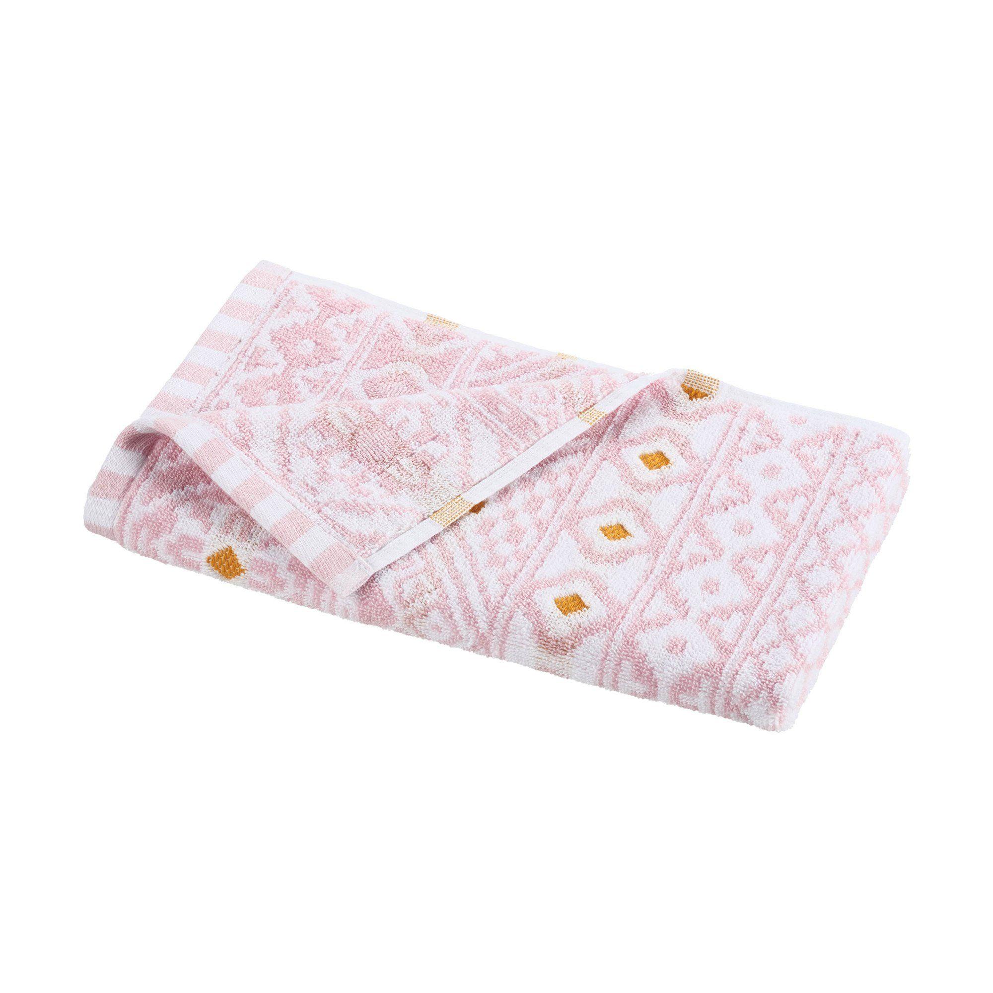 Photo of Martex Pinkadinkadew Jacquard Bath Towel Collection – Hand / Jeannie