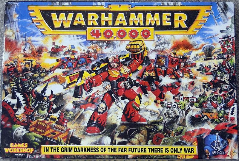 40k Flashback The First Starter Box Old games, Games