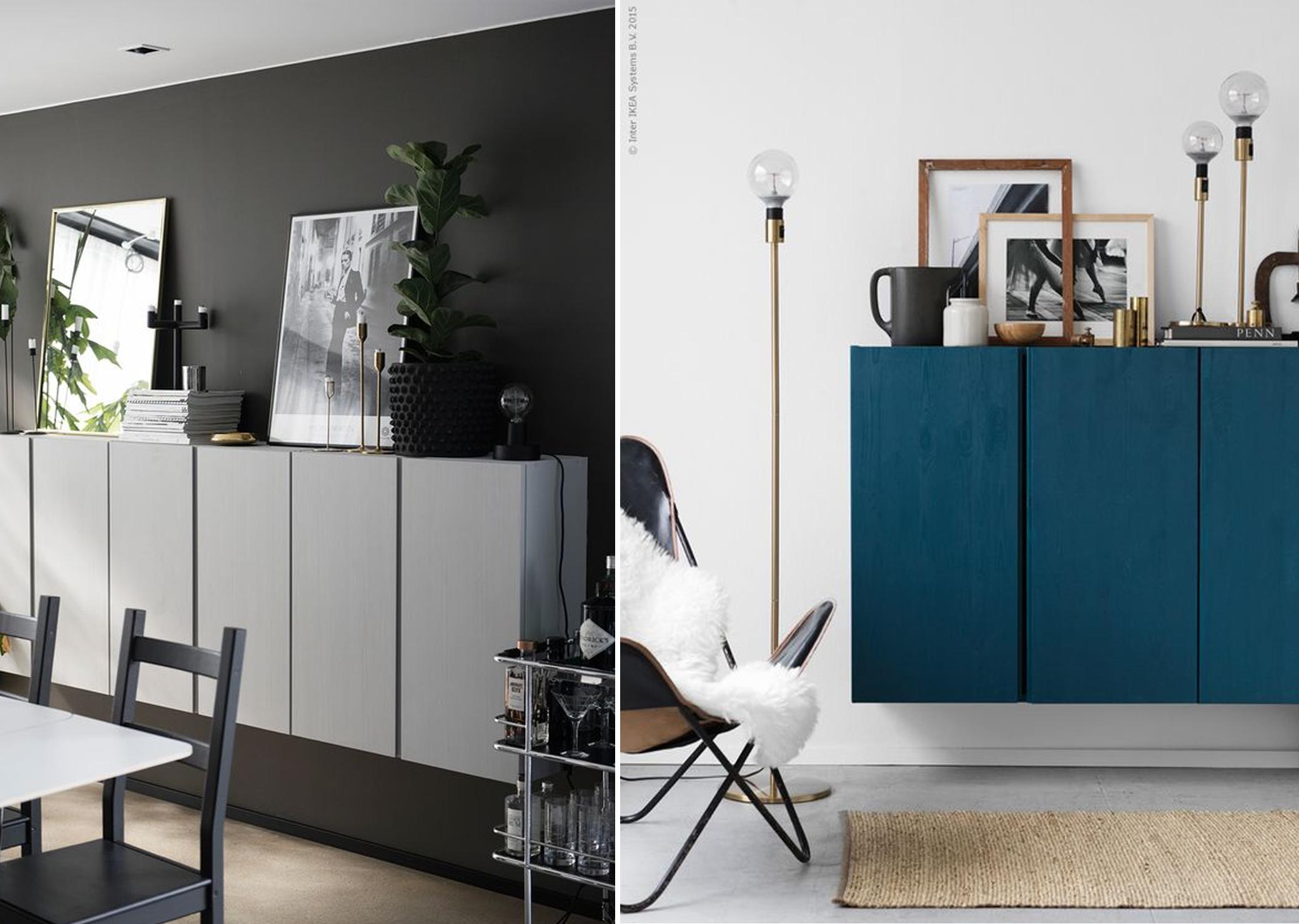 Ikea Credenza Black : Ikea ivar our bedroom inspirations