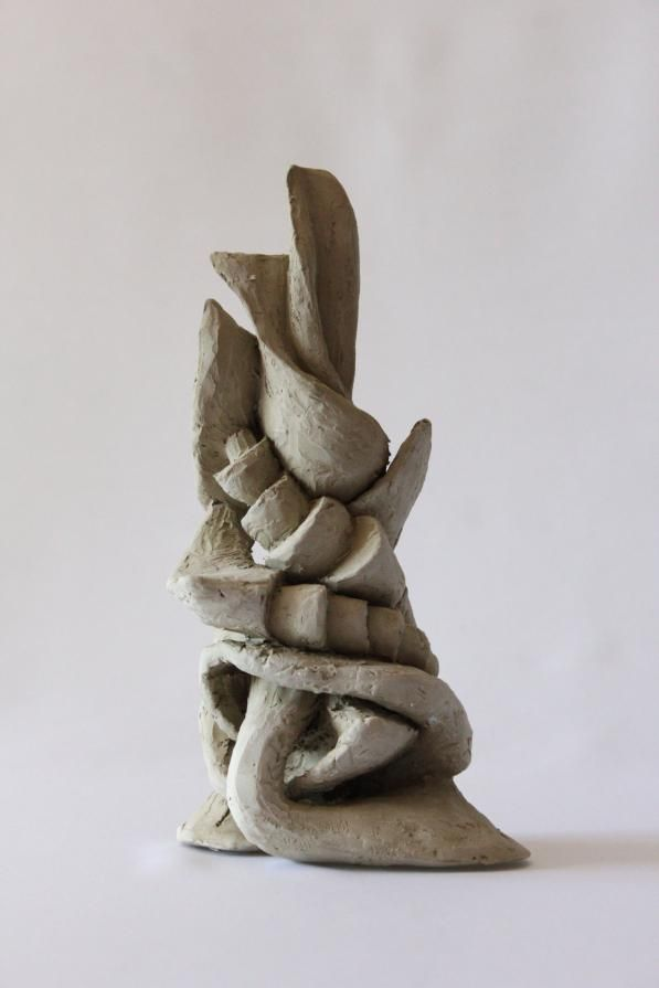 Abstract Made From Clay Vedran Rosandic Sculpture Clay Abstract