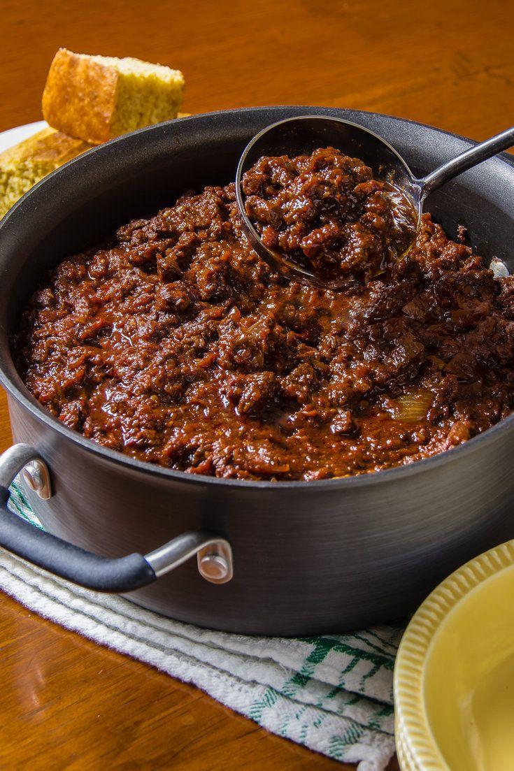 Classic Chili Con Carne Recipe Recipe Con Carne Recipe Chili Con Carne Recipe Nyt Cooking