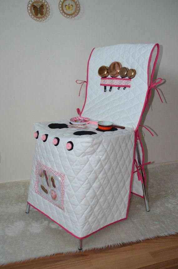 Used Kitchen, To Play The Dinette Chair Covers Transparent The Oven Door  Opens With Scratch 2 2 Strips Of Scratch On The Inside To Fix Pastries Fleu2026