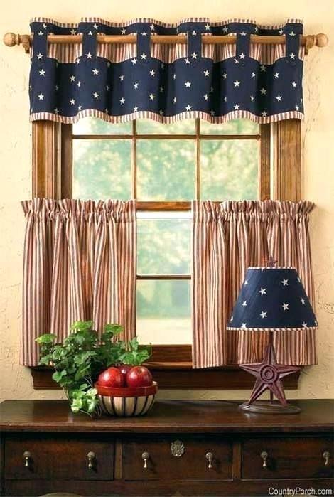 Americana Kitchen Curtains Brown Curtains No Sew Curtains Pink Curtains Valance Americana Brown Curtains Kitchen Pink S In 2020 Kitchen Curtains Kitchen Window Curtains Window Valance Diy