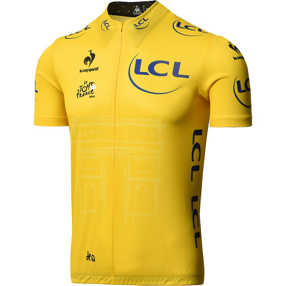 Le Coq Sportif Tour de France Replica Yellow Jersey 2016  TDF2016 ... a7364cbd3