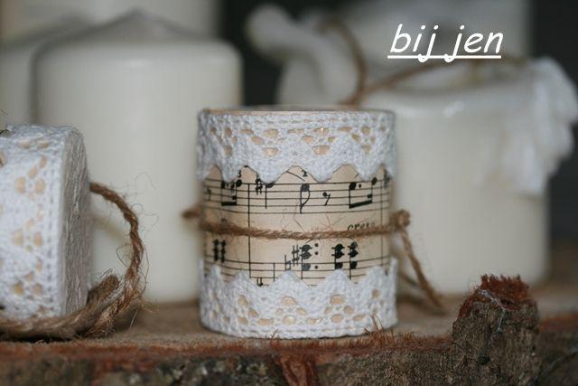 bij jen: Kleine Trommel DIY