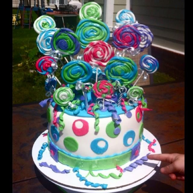 Whimsical Birthday Cake Custom Cakes By Kimitro