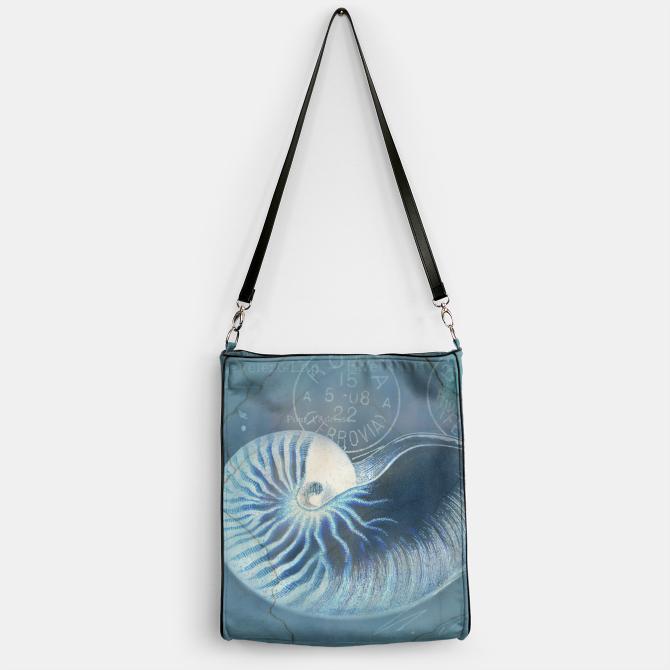 Blue Shells Handbag 1