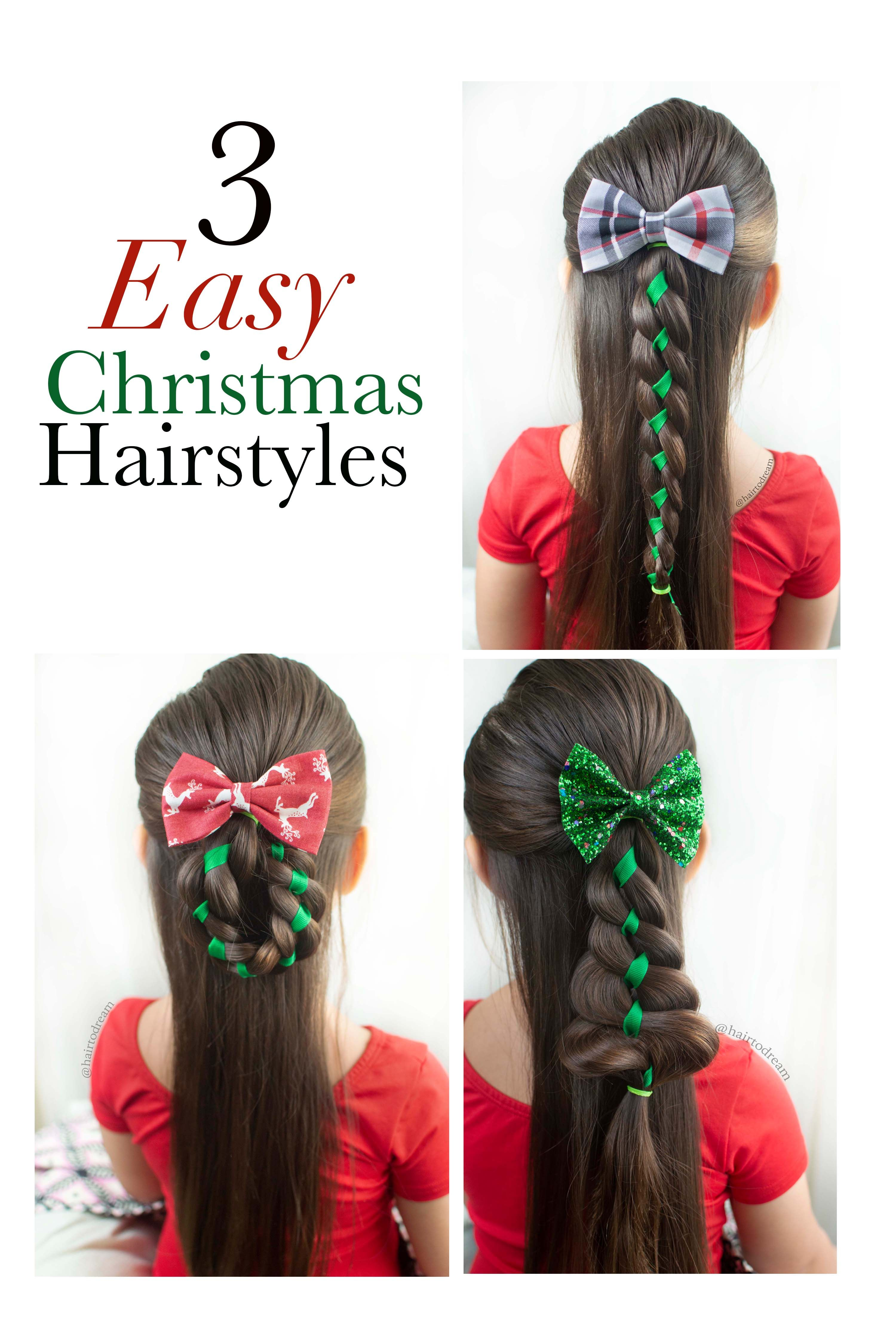Christmas Hairstyles For Little Girls Hair Styles Kids Hairstyles Easy Hairstyles