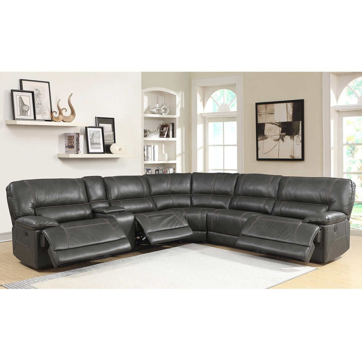 Pin By Shamira Clements On Home Decor Reclining Sectional Power
