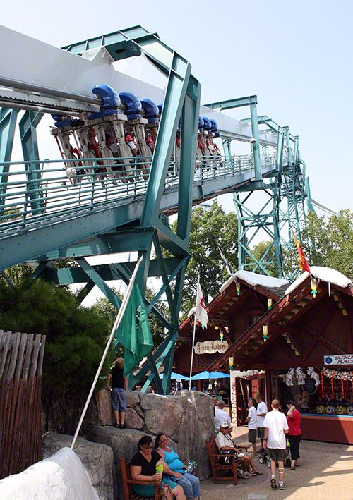 Alpengeist busch gardens williamsburg virginia - Roller coasters at busch gardens ...