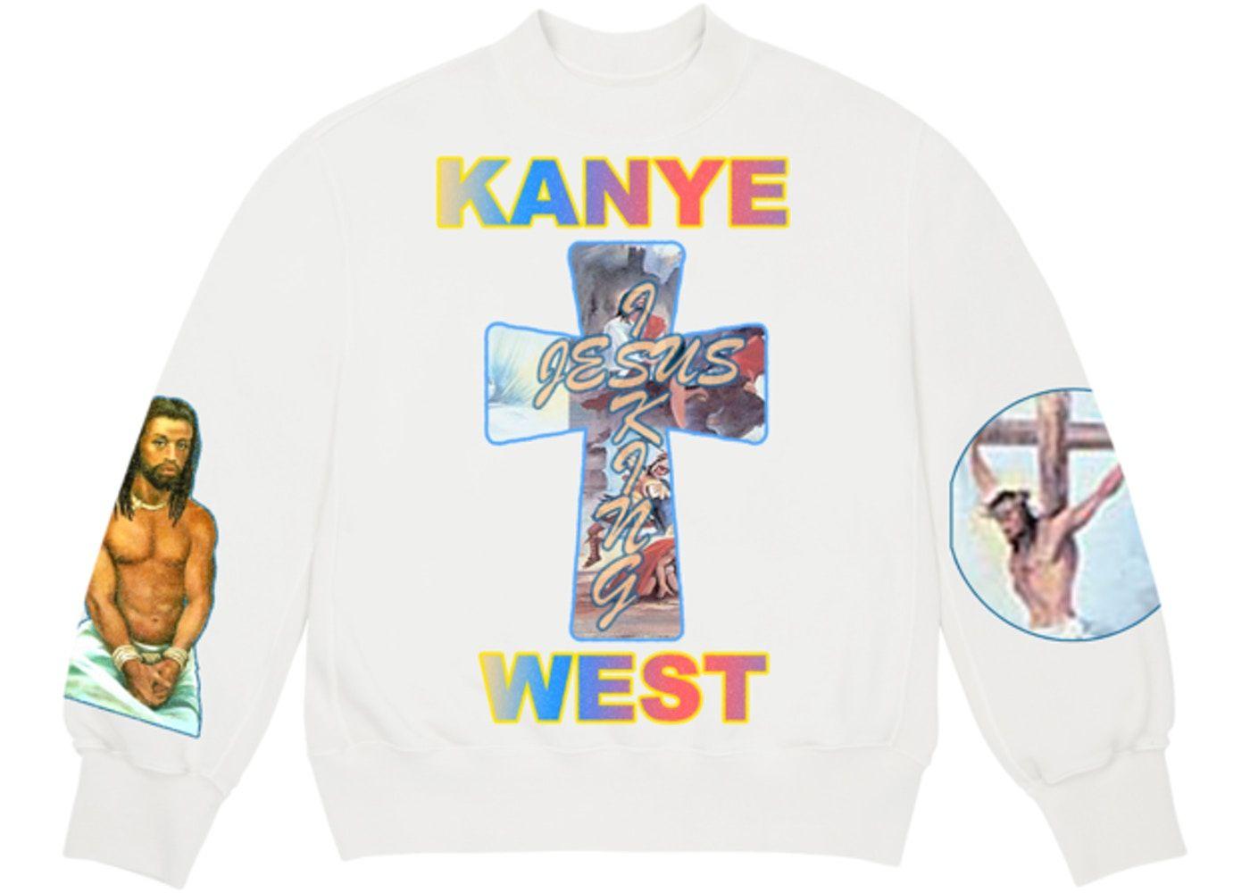 Kanye West Awge For Jik Cross Crewneck White In 2020 Kanye West Shirt Kanye West Kanye
