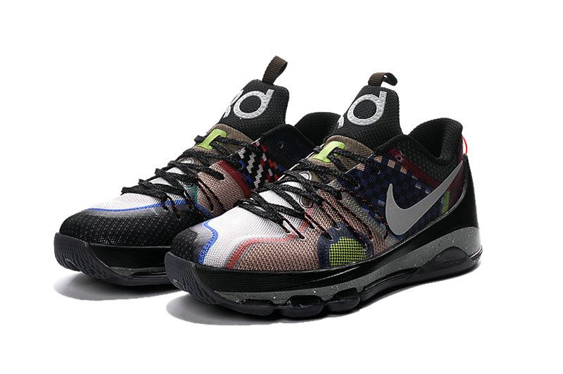 save off 9dea3 2ac48 Nike What The KD 8 Multi Color Multi Color 845896 999
