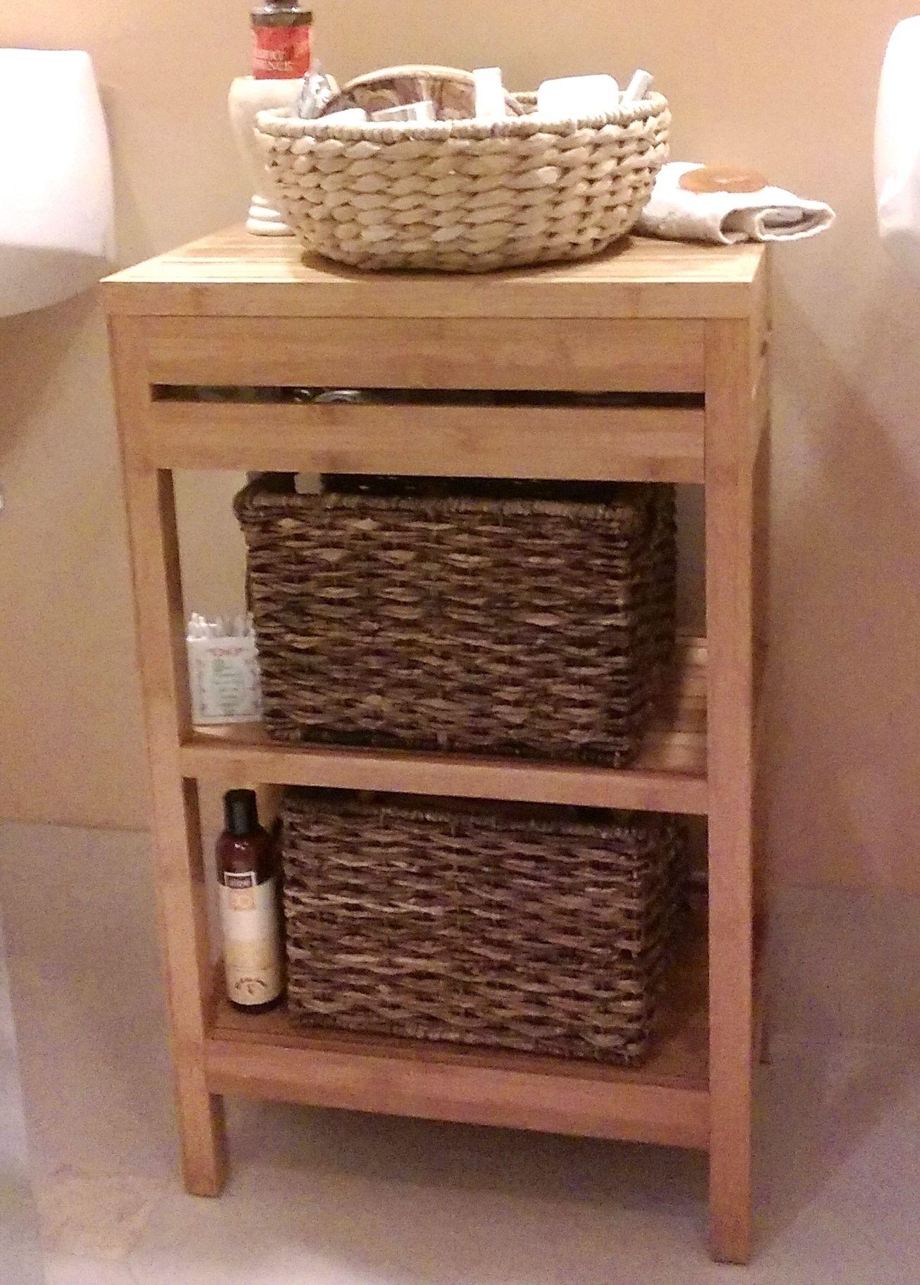 Bamboo Bath Furniture | Maximize space, Bath and Spaces