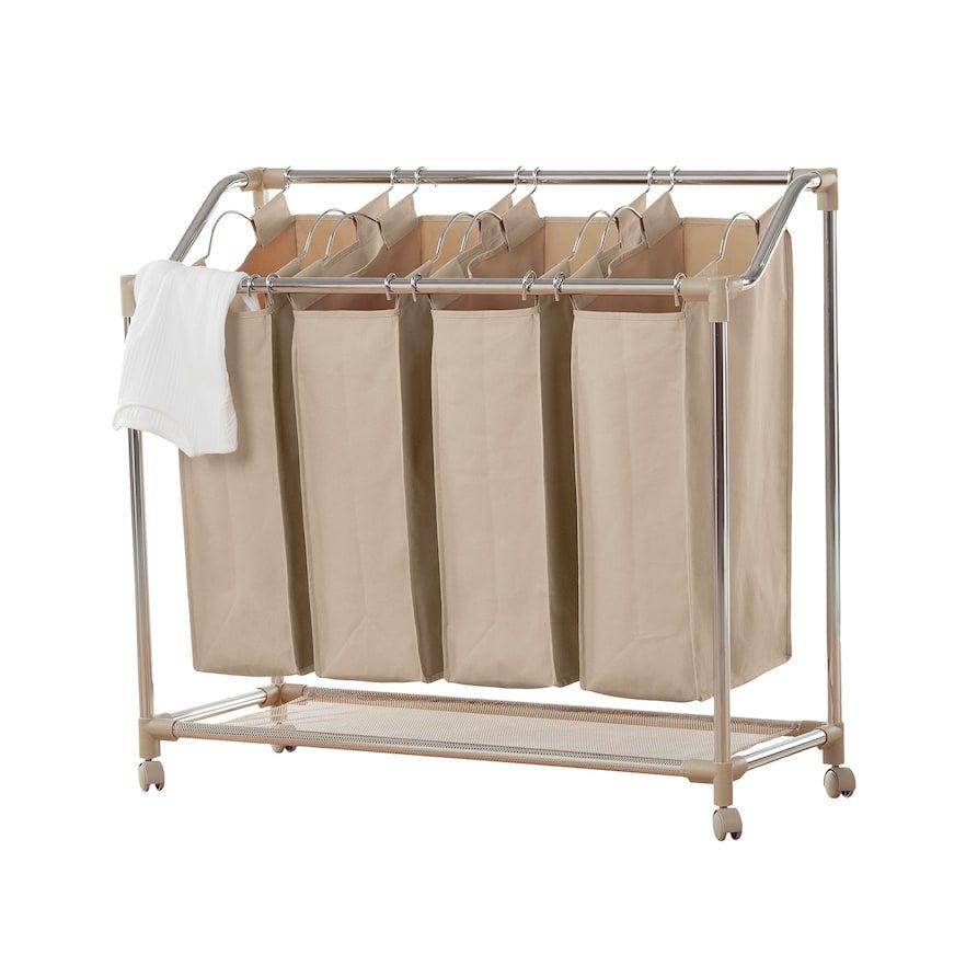 Neatfreak Deluxe Quad Laundry Sorter Products Laundry Sorter