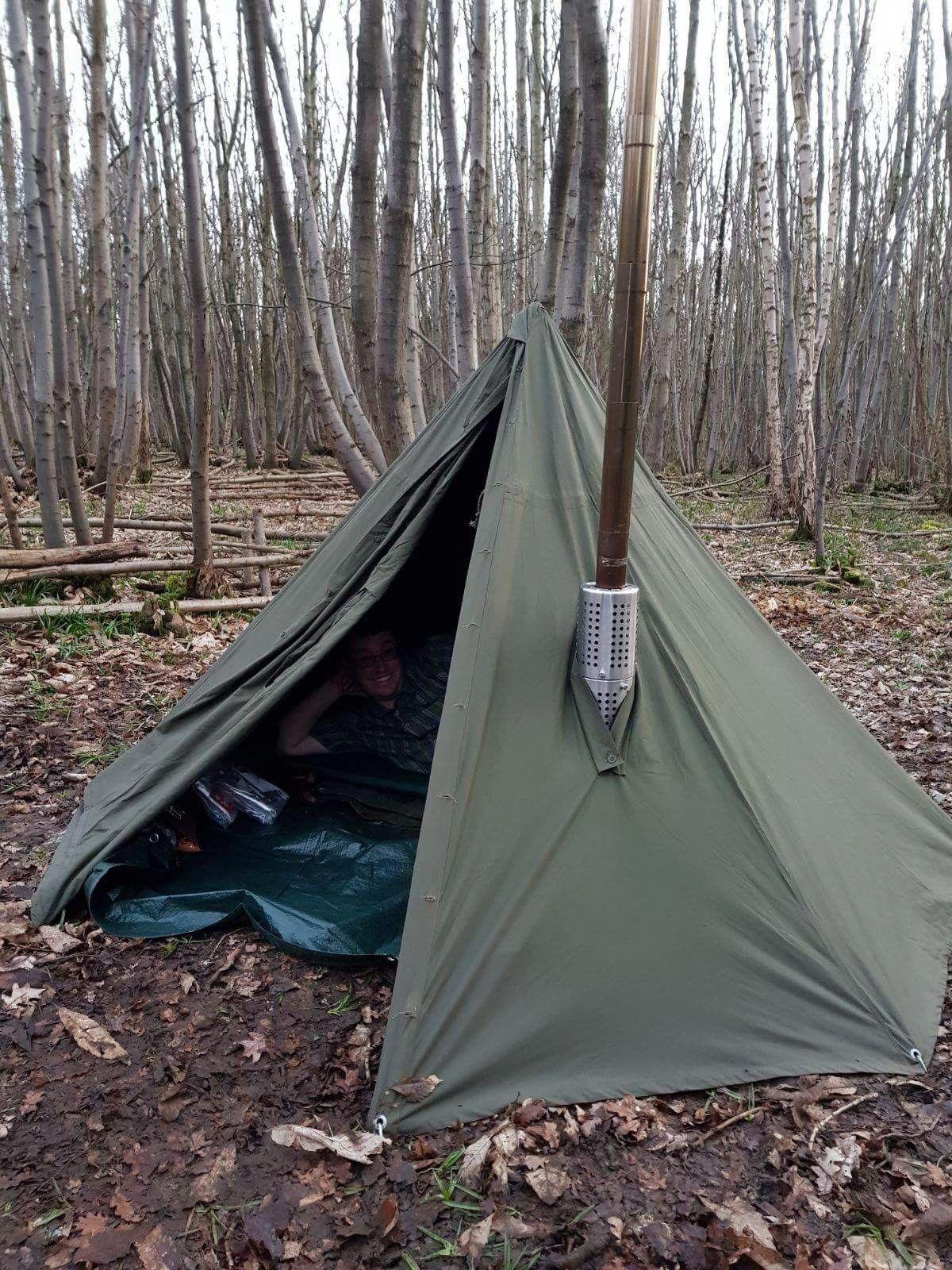 LUXE Outdoor Zelte Rucksäcke, Zelte & Schlafen Bushcraft