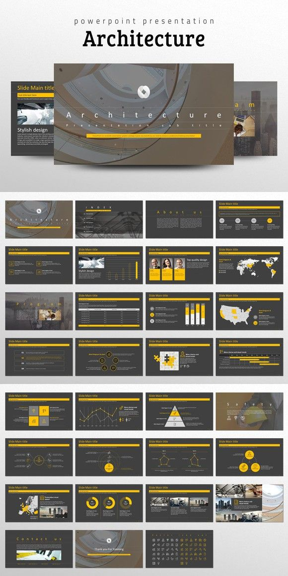 Architecture ppt template ppt template template and presentation architecture ppt template toneelgroepblik Choice Image