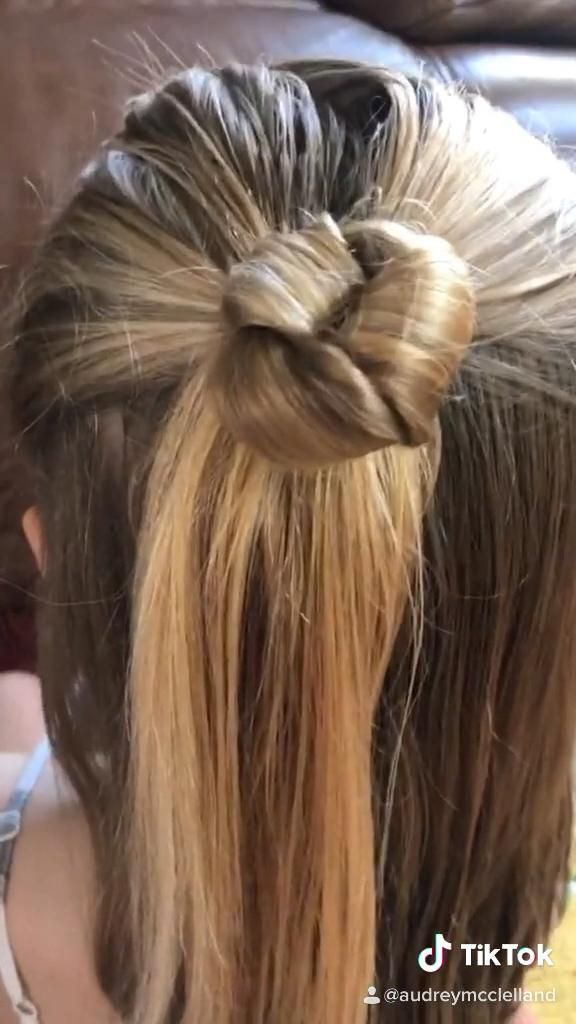 Easy Knotted Bun