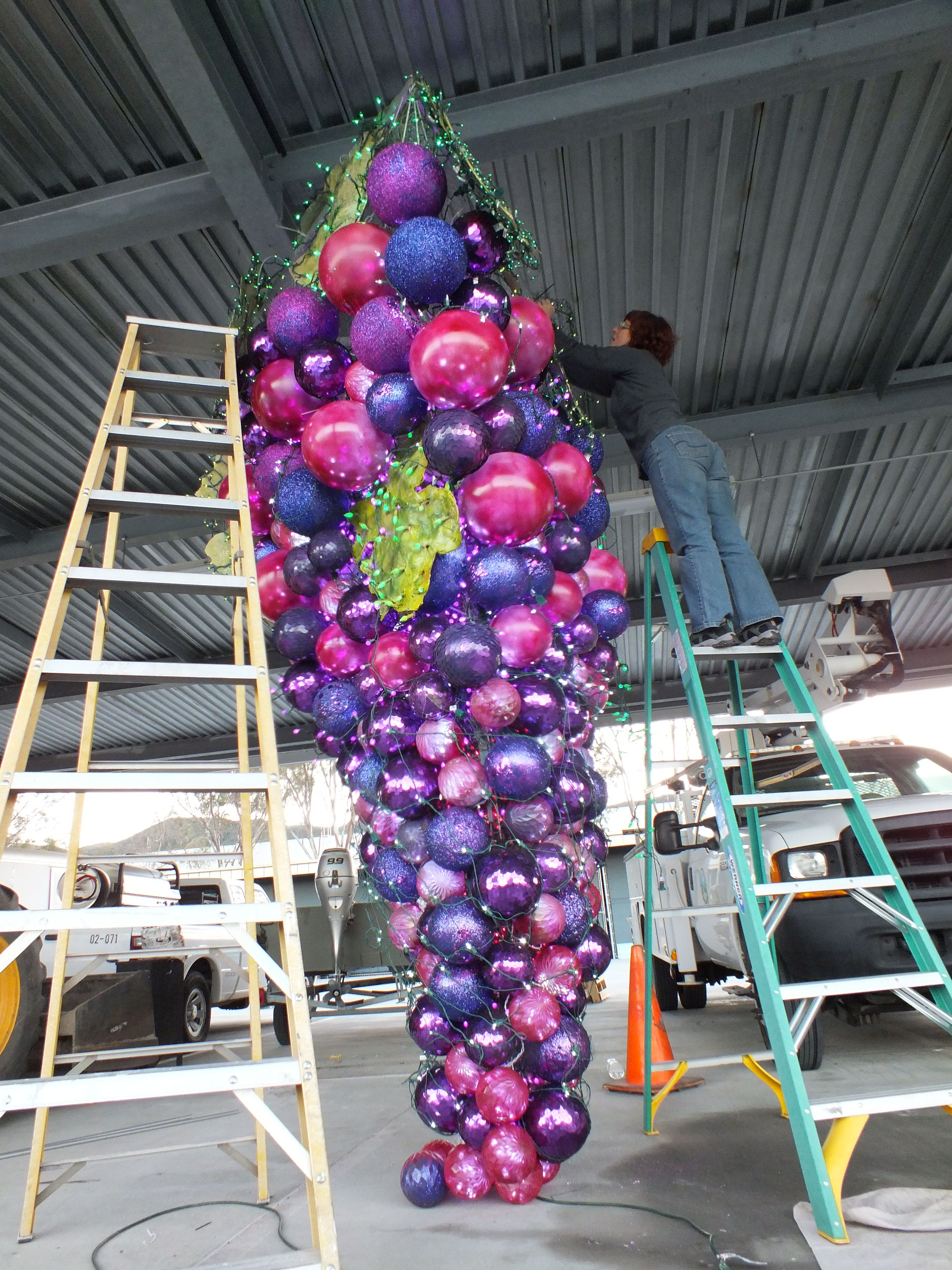 Still filling in with purple balls (With images) Grape