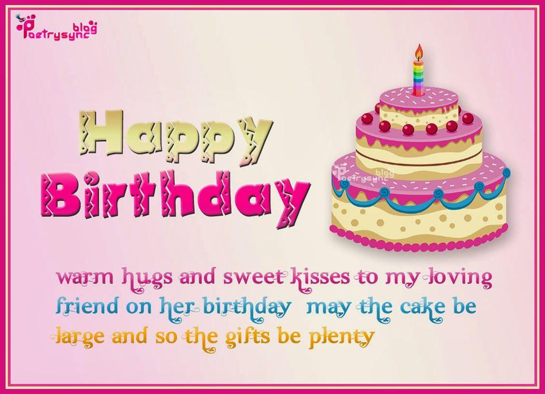Happy Birthday Warm Hugs And Sweet Kisses To My Loving