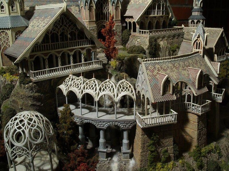 Rivendell Google Search Fantasy Landscape Fantasy Castle Elven City