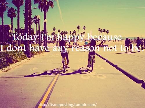 Today I'm happy :D