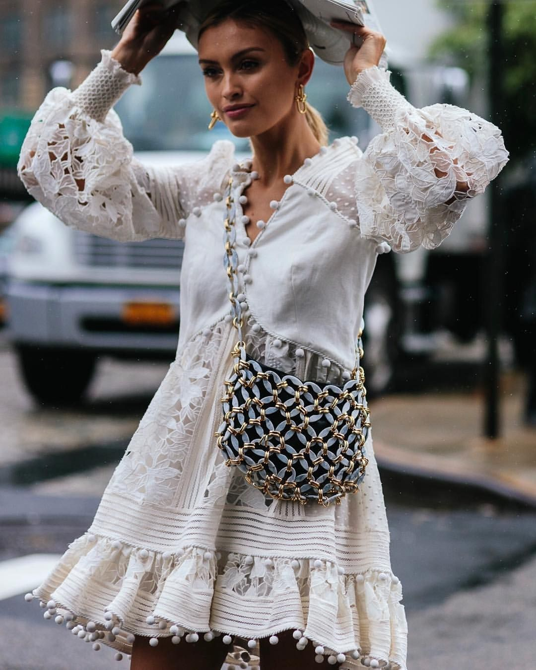 "StreeTrends on Instagram: ""📸: @shotbygio New York Fashion Week SS19"""