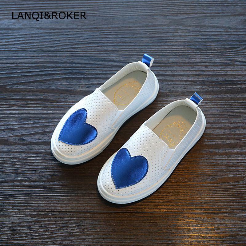 2017 New Children Sneakers Spring Autumn Kids Hollow Out Shoes Girls Love Toddler Shoes Summer Kid Bre Zapatillas De Ninas Zapatos Para Ninas Zapatos De Chicas