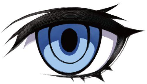 目の特徴でキャラクターの個性を描き分ける デジ絵 イラスト マンガ描き方ナビ 2020 アニメ 目 アニメスケッチ イラスト