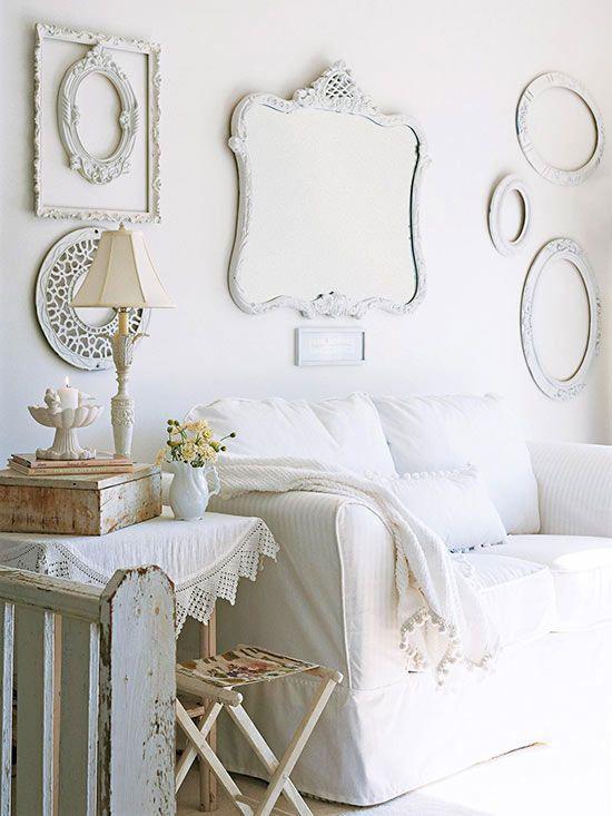 Soluciones vintage para decorar paredes | Pinterest | Decoracion de ...