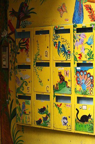 Mail boxes Belgium ..