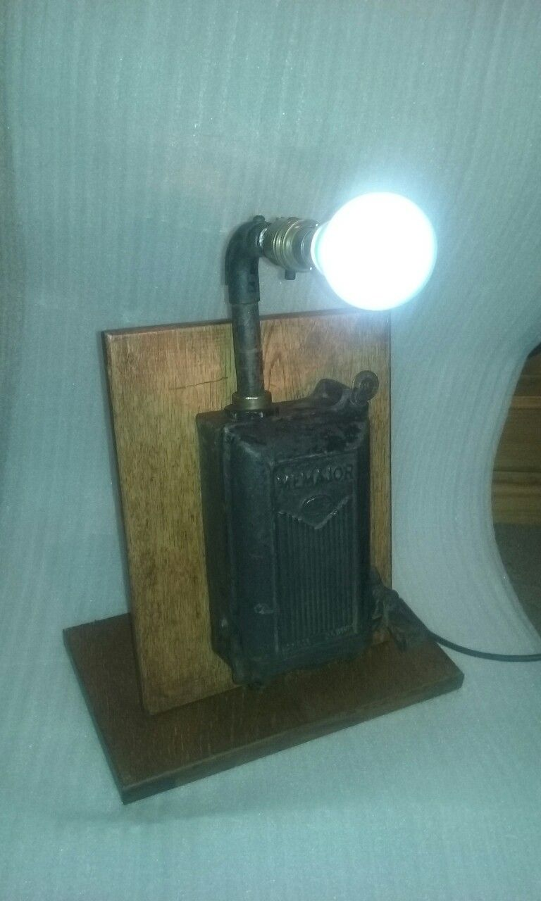 Vintage Cast Iron Fuse Box Upcycled Into A Lamp Lamps Pinterest Lights