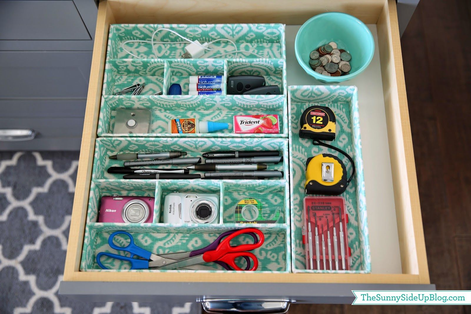 Organized junk drawer | Pinterest | Junk drawer, Organize junk ...