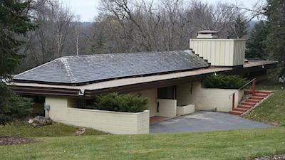 Thomas Keys Home Rochester Mn 1950 Frank Lloyd Wright Buildings Usonian Style Frank Lloyd Wright Design