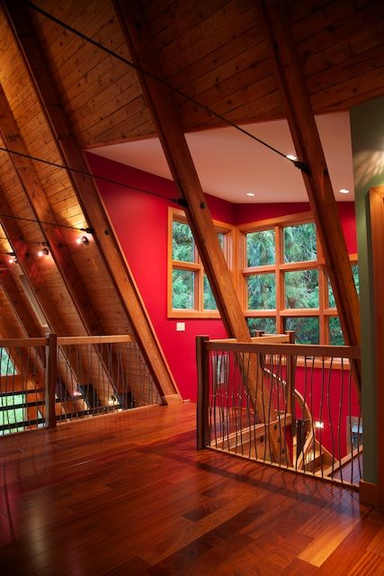 A-Frame Remodel | Stoner Architects | Seattle Residential ...
