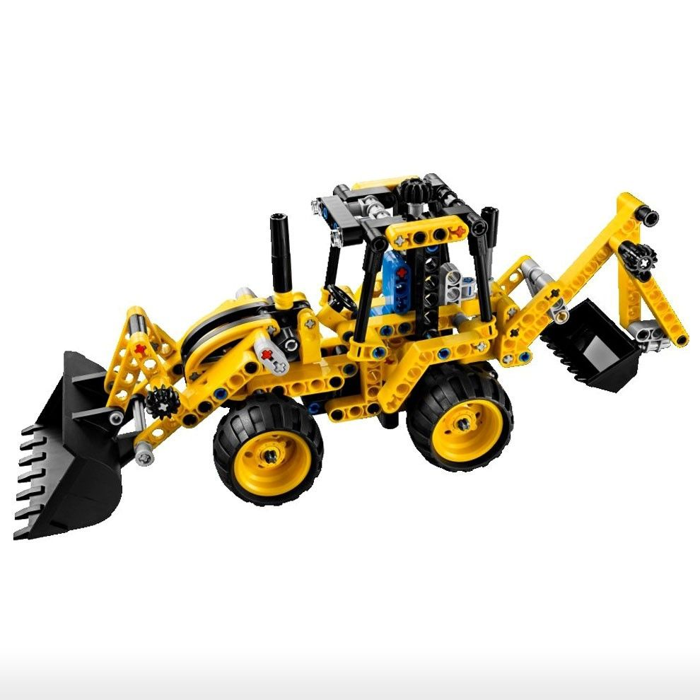 lego toys u003e 8y 14y u003e technic 42004 mini backhoe loader video