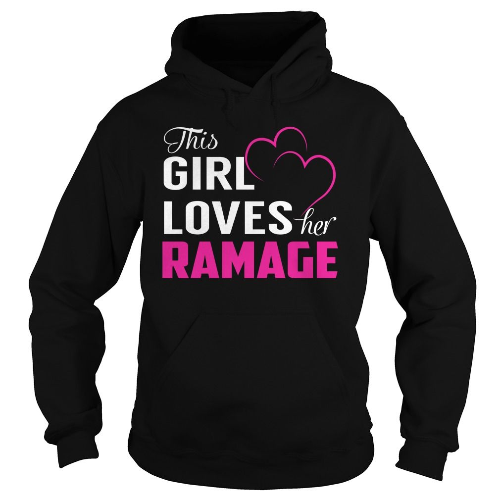 Best tshirt name meaning] This Girl Loves Her RAMAGE Pink Shirt ...