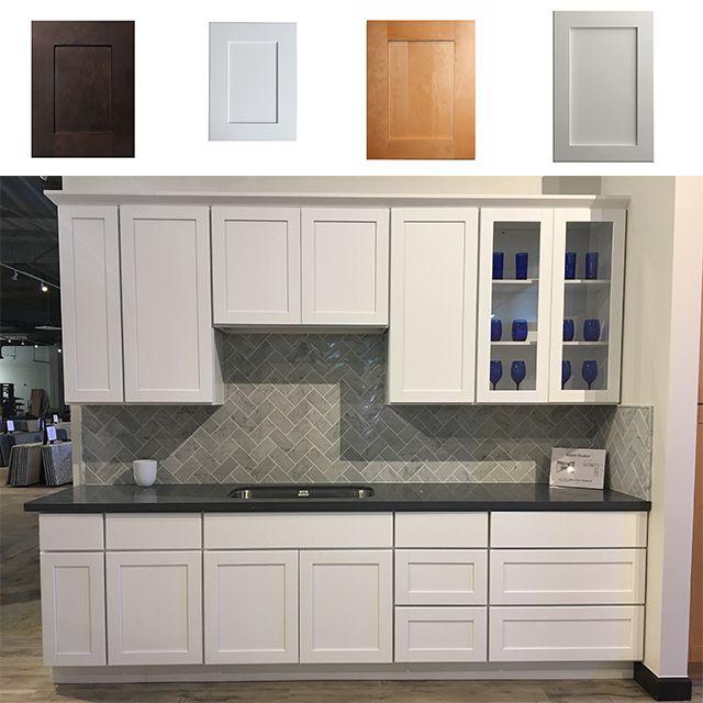 American Standard Flat Pack Kitchen Cabinet Solid Wood Door ...